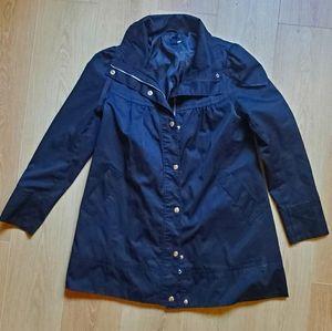 H&M Black Rain Coat 10